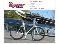 Brand new single speed fixed gear fixie bike/ road bike/ bicycles + 1year warranty & free service s1