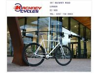 Brand new single speed fixed gear fixie bike/ road bike/ bicycles + 1year warranty & free service jw