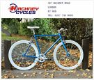 Brand new single speed fixed gear fixie bike/ road bike/ bicycles + 1year warranty & free service hw