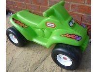 Little Tikes Ride on Quad in Green