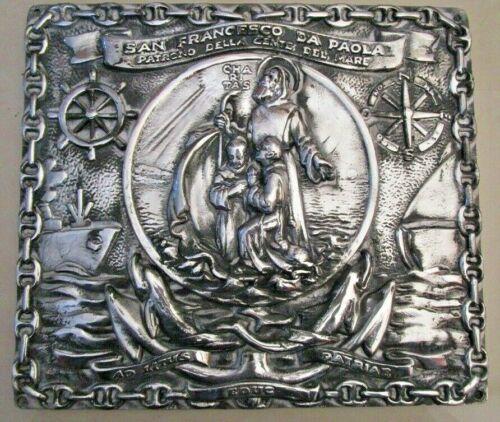 SAN FRANCESCO DA PAOLA  Plate / Plaque -- RARE  (2185)