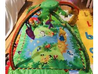 Playmat - rainforest fisher price