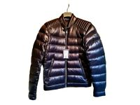Prada men puffer down biker jacket size 48