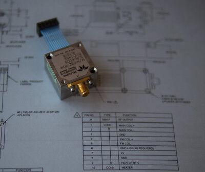 Fs2787 Teledyne Yig Oscillator 6 - 15 Ghz