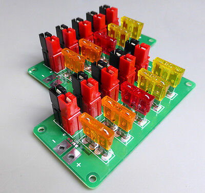 Anderson Power Pole Expansion Board - BUILT