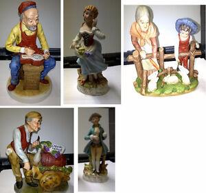 Various Vintage Statues
