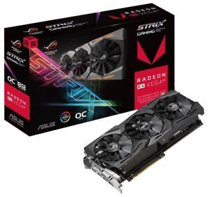 Almost new Asus RX VEGA 64 8GB Memery(2month)