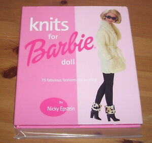 Knits for Barbie Doll - by Nicky Epstein 75 designs (4 Ken too)