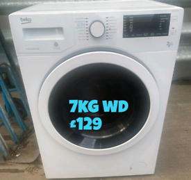 Beko 7kg washer dryer free delivery in Birmingham