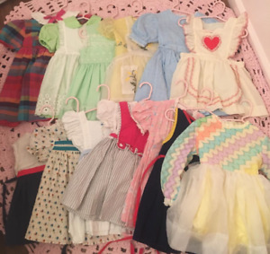 CASH Paid for vintage baby/toddler clothing