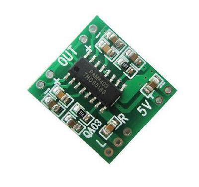 20 Pcs Pam8403 Amplifier Board Module 23w Class 2.5v-5v Usb Power Supply