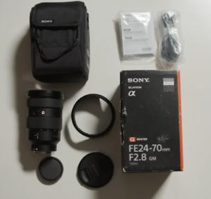 Sony FE 24-70 F2.8 GM Full-frame E-mount Mirrorless Camera Lens