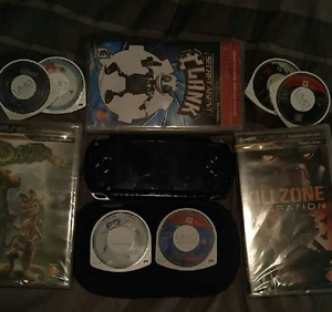 PlayStation PSP and games