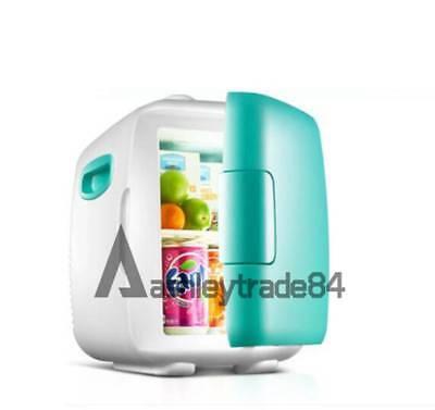 vehicle-mounted Dorm Room Office Kitchen Mini Refrigerator Fridge 8L Green