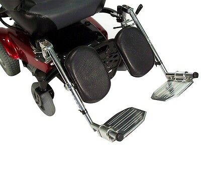 Drive Medical Power Wheelchair Elevating Legrest Bracket With Hemi Spacing NEW