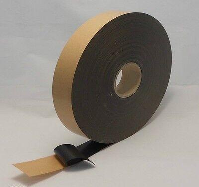 Nastro Biadesivo nero in schiuma acrilica per fissaggio alta adesività industria