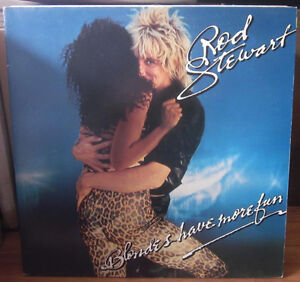 ROD STEWART Vinyl Album 1978 Blondes Have More Fun