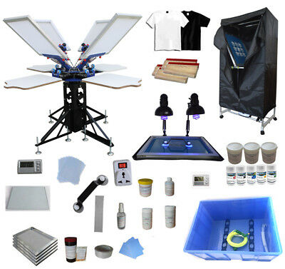 reen printing Equipment kit DIY t shirt micro-adjust press (T-shirt Siebdruck Kit)