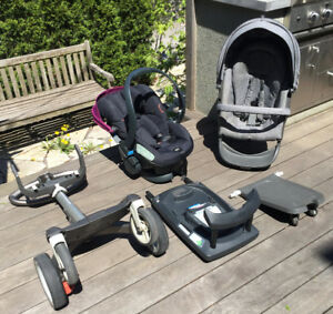 Stokke Stroller with many accessories