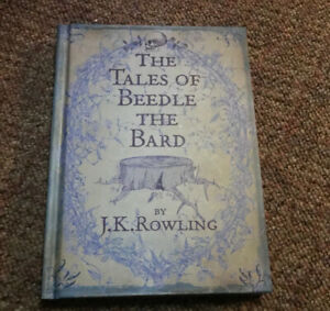 The Tales of Beedle The Bard Hardcover J.K. Rowling Harry Potter
