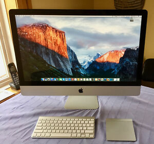 Apple iMac 27-inch, 2.7 GHz Intel Core i5 (Late 2011 model)