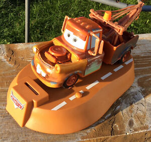 DISNEY PIXAR TOW MATER ANIMATED MOVING TALKING BANK Gatineau Ottawa / Gatineau Area image 1