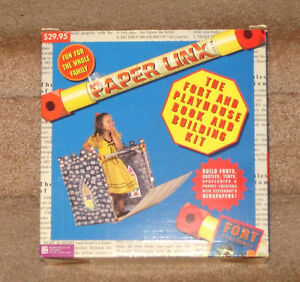 Paper Linx Creative Building Set (Forts, Theater, Castles, etc.)