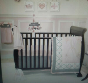 Lambs & Ivy 9pc nursery/crib bedding set
