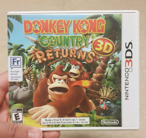 Donkey kong country 3DS Complete