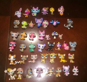 RARE and AUTHENTIC Littlest Pet Shops - (used and no accessory)