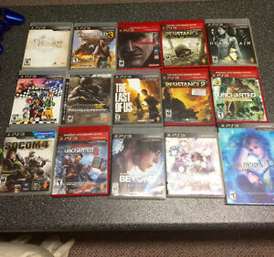 PS3 games for sale,Swap/Trade or $10  each. Pick up only!