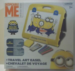 Brand New: Minions Despicable Me  Travel Art Easel Craft Kit
