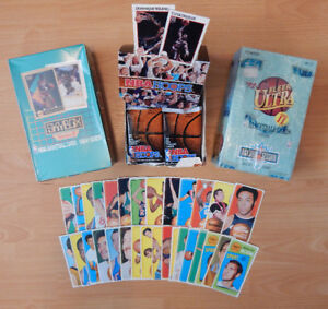 BASKETBALL LOT CARD COLLECTION 70'S 80'S 90'S WAX, SETS SINGLES