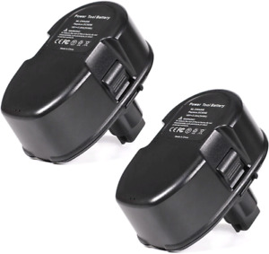 2-Pack 18V 3.0Ah NI-MH Replacement Battery for Dewalt Cordless