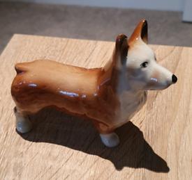 Ceramic Corgi model.