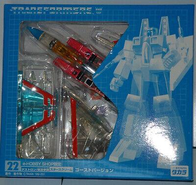 TRANSFORMERS G1 E-HOBBY D22 GHOST STARSCREAM Action Figure Toys Takara Tomy NEW