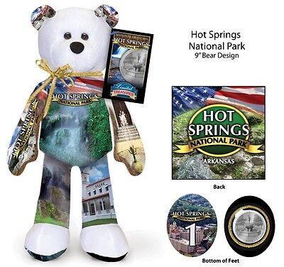 Hot Springs Arkansas National Park Quarter bear