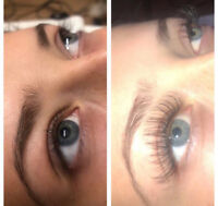 Lashes, Microblading, and Makeup services