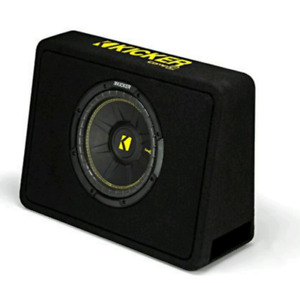 Subwoofer 10 inch kicker with free amplifier.