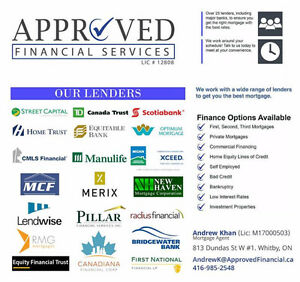 Mortgages, Refinancing, Loans! Get Approved!