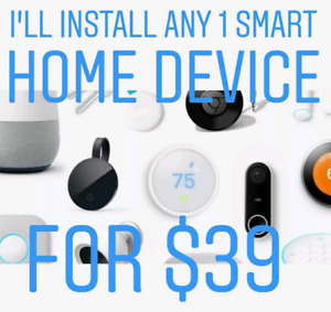 Install any 1 Smart Home device for $39