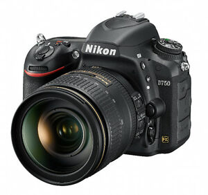NIKON D750 FX DSLR with 24-120 LENS IN MINT CONDITION. Oakville / Halton Region Toronto (GTA) image 2