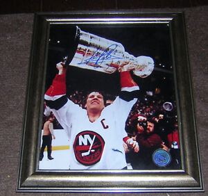 DENIS POTVIN NEW YORK ISLANDERS AUTOGRAPH (CERTIFIED)