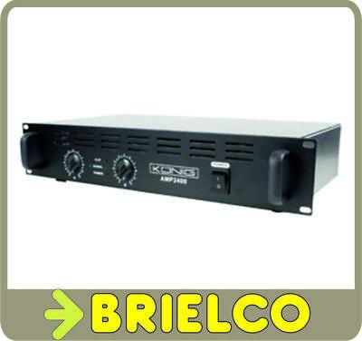 AMPLIFICADOR DE POTENCIA MOSFET AUDIO HI-FI 2X120W RACK 19 JACK Y XLR...