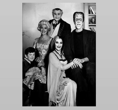 Halloween Pics Scary (The Munsters Family PHOTO Publicity Pic TV Show Spooky Scary Creepy)