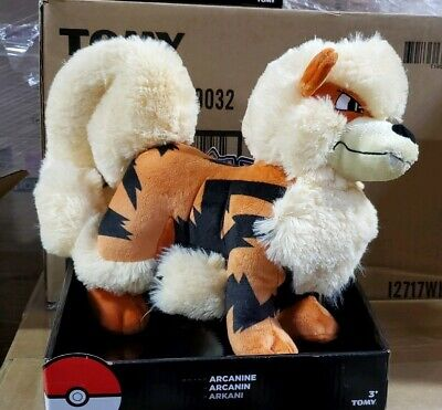 "Pokemon Arcanine 11"" Fluffy Poke' Plush"