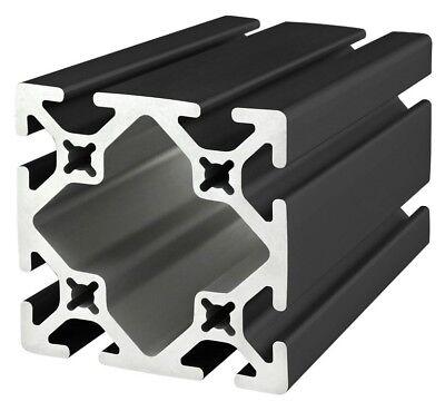 8020 Inc Tslot 15 Series 3 X 3 Aluminum Extrusion 3030-s-black X 12 Long N