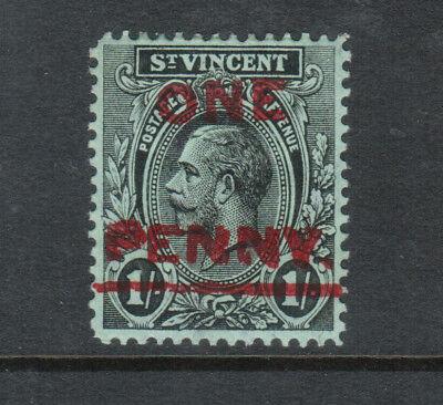 St Vincent #117a (SG #121c) Very Fine Mint Original Gum Hinged **With Cert.**