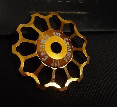 CNC 125g 3//4 Speed Chain Tensioner Derailleur Pulley Wheels Für Brompton Fahrrad