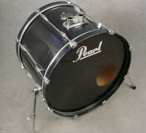"PEARL EXPORT 22"" BLACK BASS DRUM"